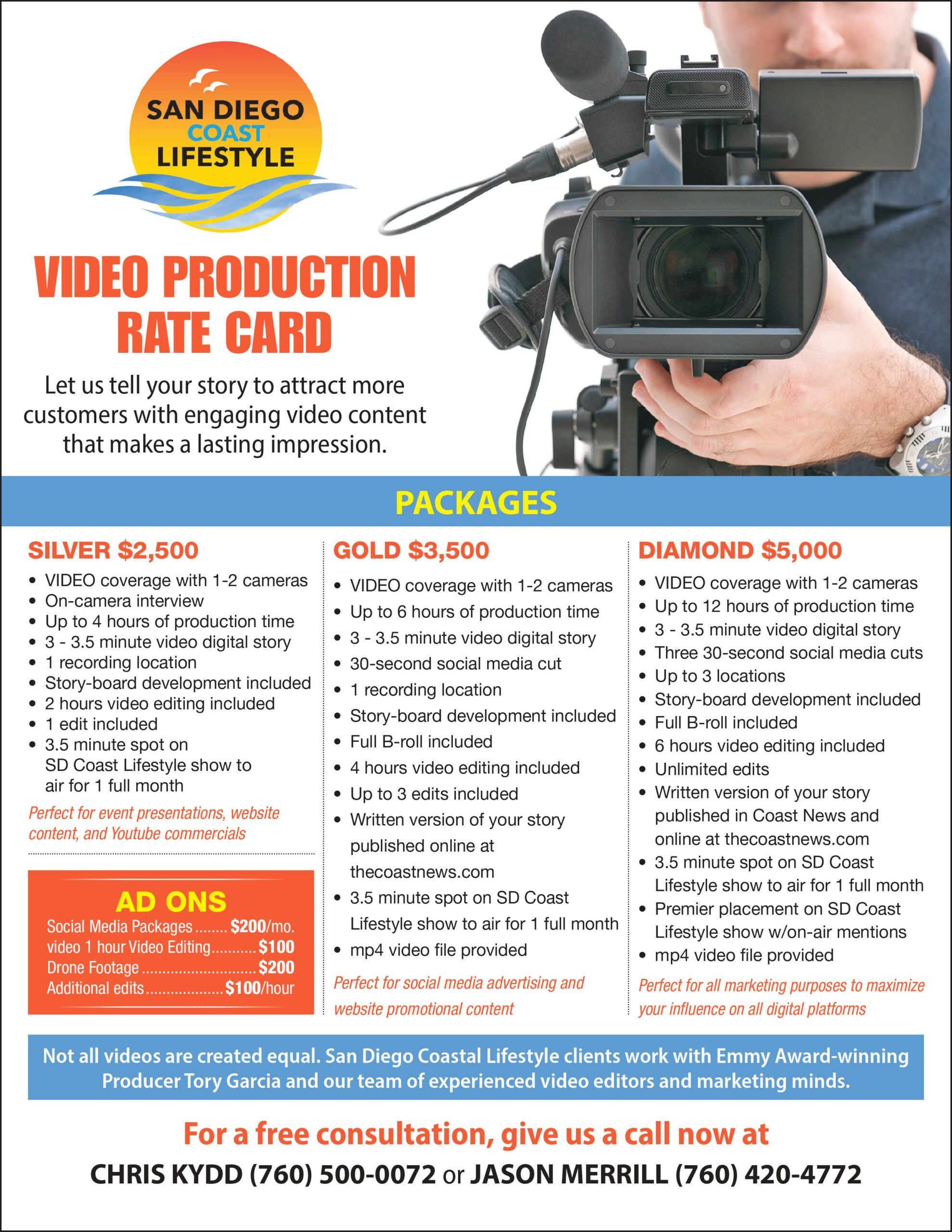Video production service in San Diego