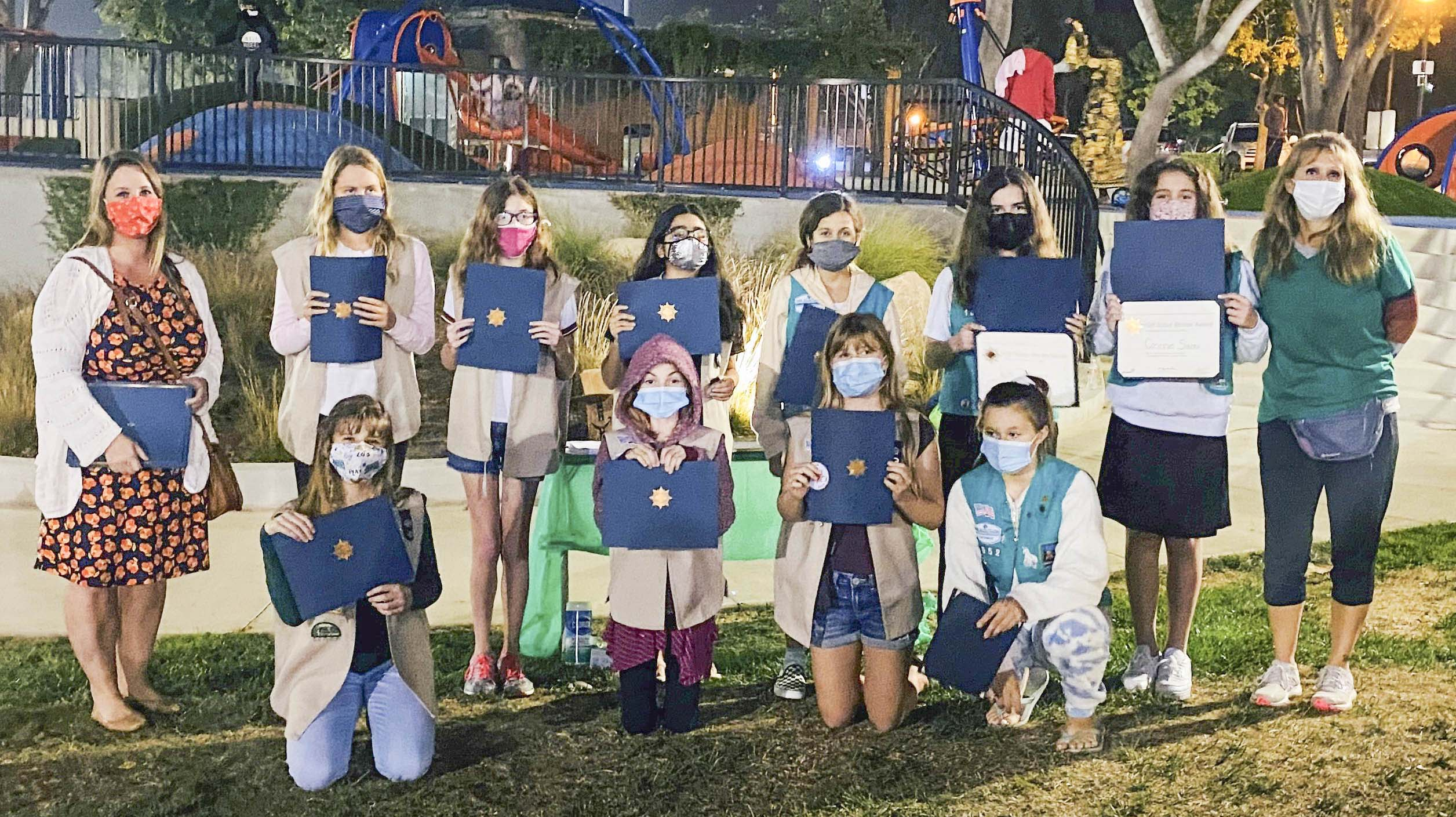Carlsbad Girl Scouts