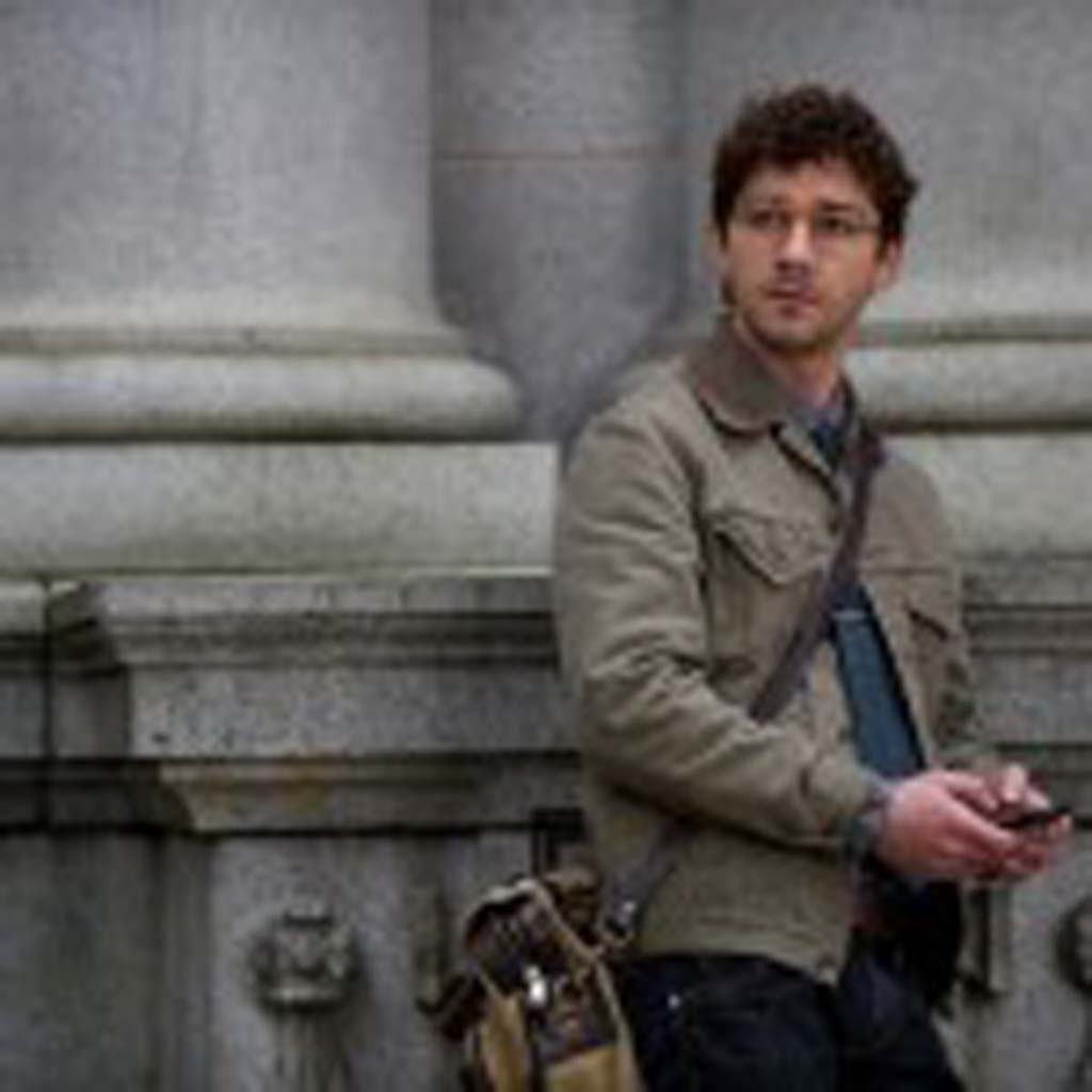 """Shia LaBeouf is an ambitious reporter, who uncovers a secret in """"The Company You Keep."""" Photo by Doane Gregory"""