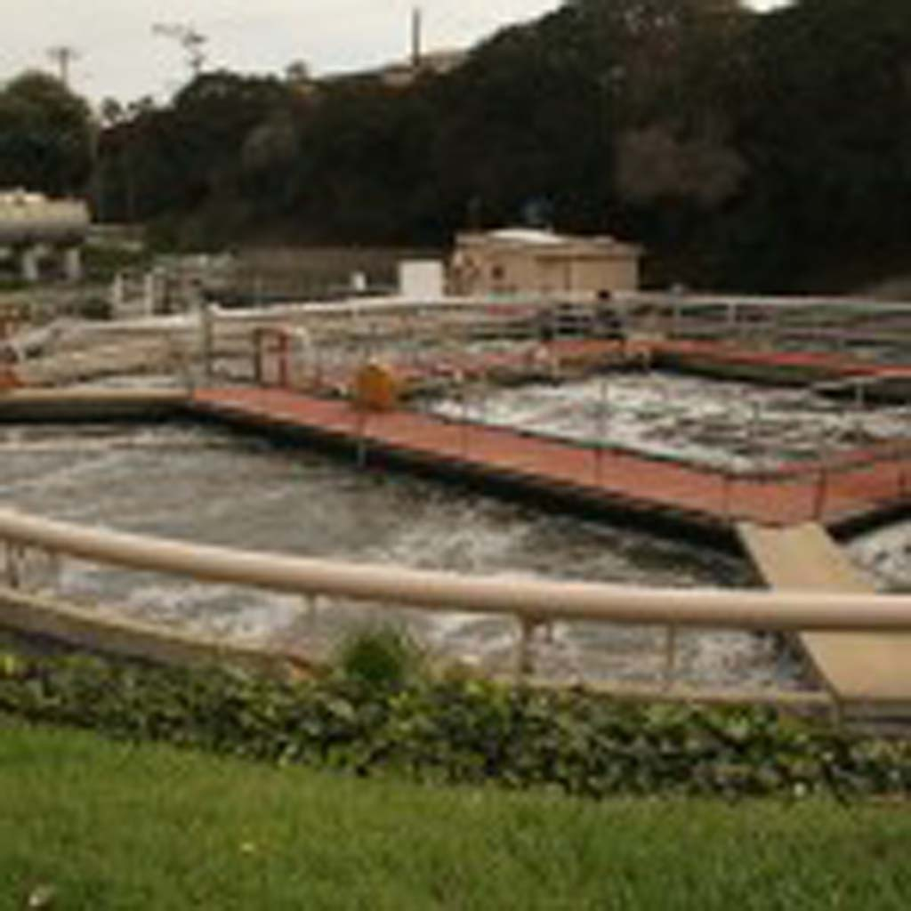A cogeneration facility will be built at Oceanside's La Salina Wastewater Treatment Plant this summer. Energy purchased from the cogeneration facility operator will save the city about $41,000 annually. Photo by Promise Yee
