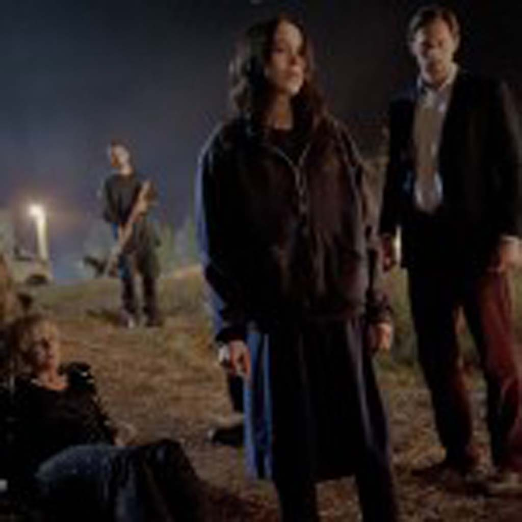 "Ellen Page, center, as ""Izzy"" and Alexander Skarsgard as ""Benji"" in the film, ""The East."" Photo by Myles Aronowitz"