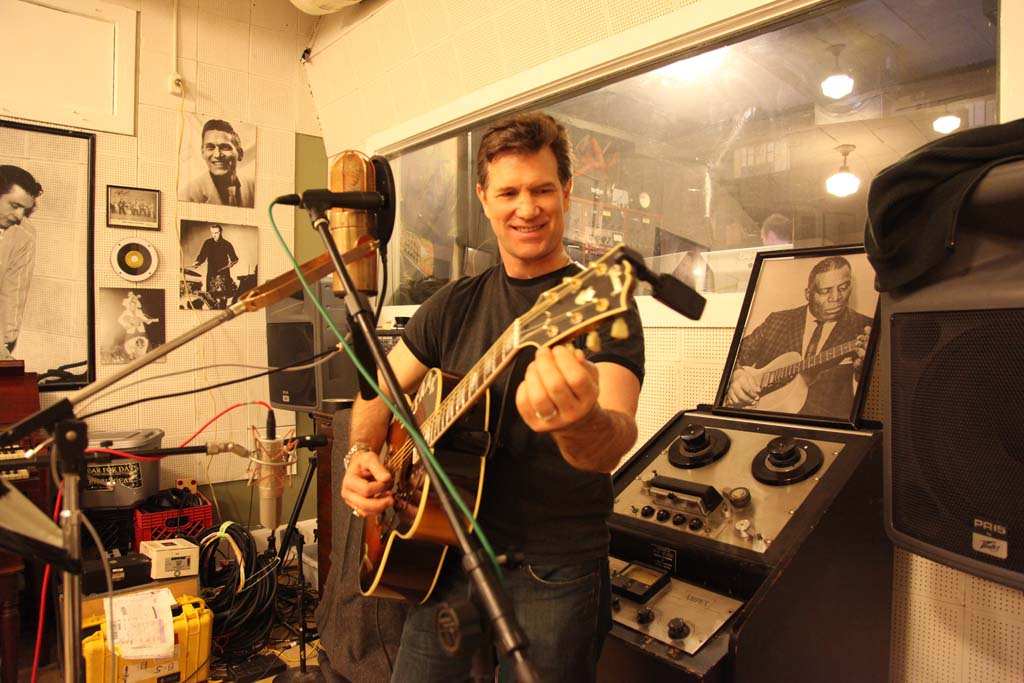 """Chris Isaak has just released his latest album, """"Beyond The Sun,"""" a personal project covering songs from the 1950s. He'll be performing Aug. 3 at Humphrey's Concerts By The Bay. Courtesy photo"""
