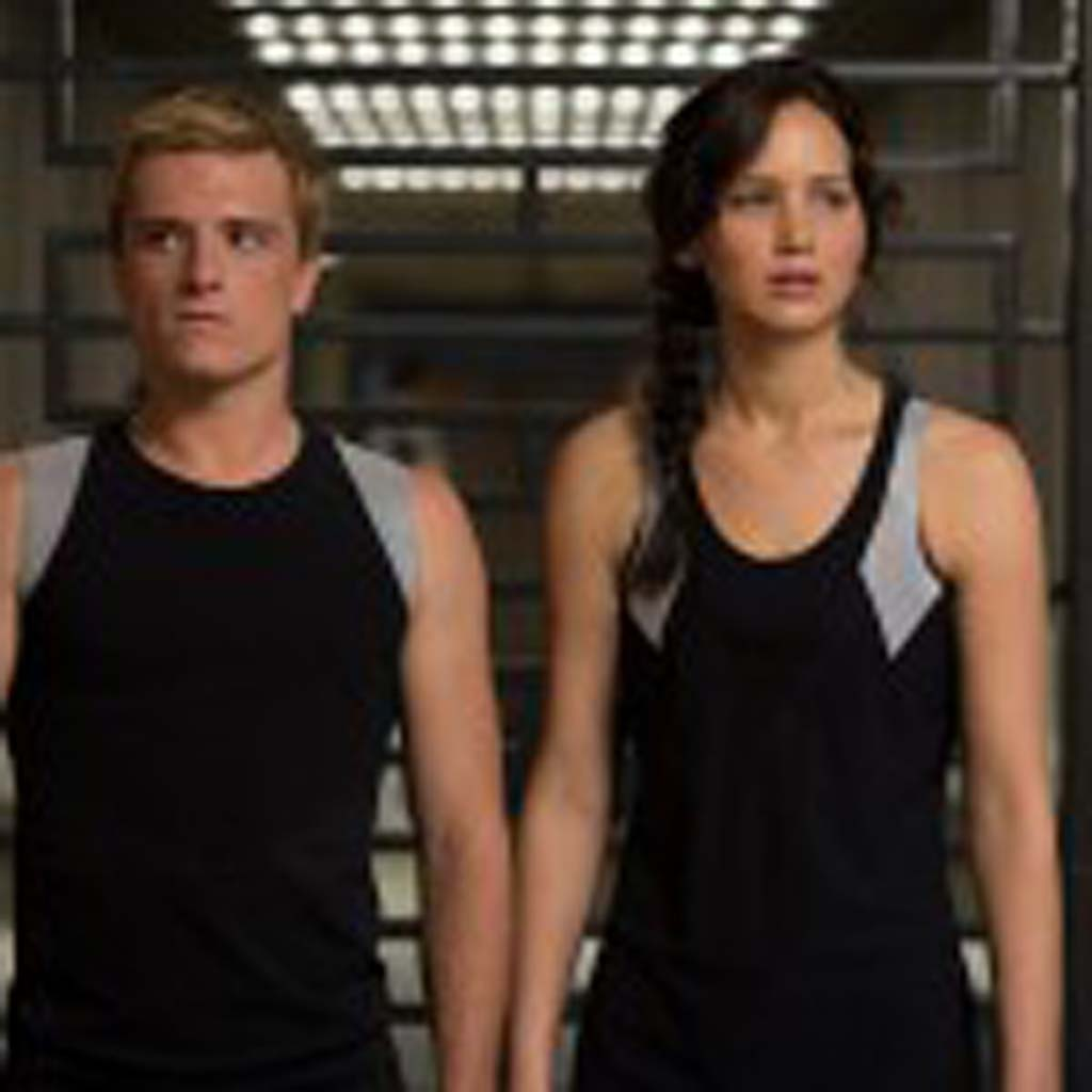 """Katniss Everdeen (Jennifer Lawrence), right, and Peeta Mellark (Josh Hutcherson) are back in """"The Hunger Games: Catching Fire."""" Photo by Murray Close"""