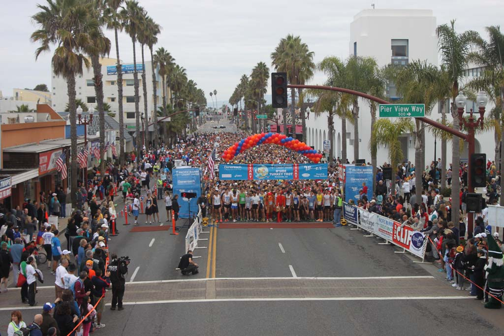 Last year, 9,000 runners participated in the annual Turkey Trot Fun Run. Courtesy photo