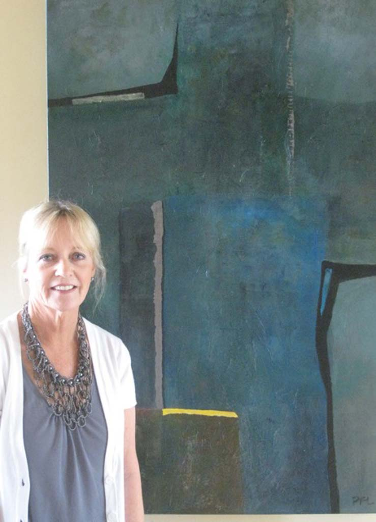 """Pamela Fox Linton, who regularly exhibits in the Del Mar Art Center, is currently showing her paintings in """"Extempore"""", a group show at L Street Fine Art Gallery in San Diego. Courtesy photo"""