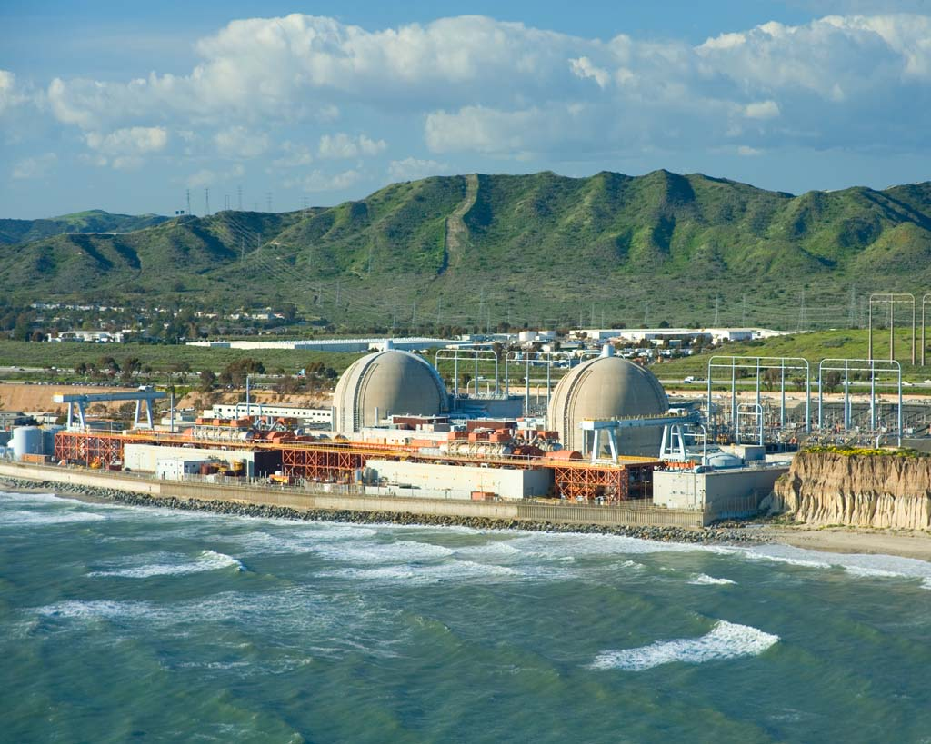 Thousands of nuclear fuel rods that contain radioactive waste from the now shut-down San Onofre Nuclear Generating Station will remain on site indefinitely. Courtesy photo