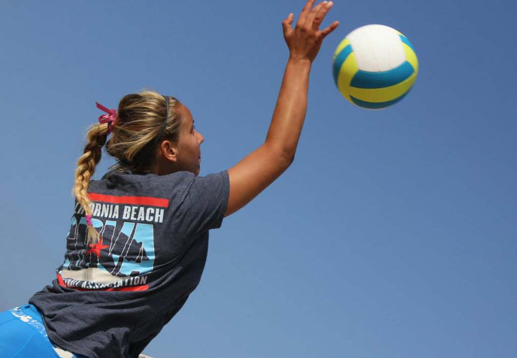At 16 years old, Kamden Maas has a passion for the sport of volleyball that most teens her age don't have. Courtesy photo