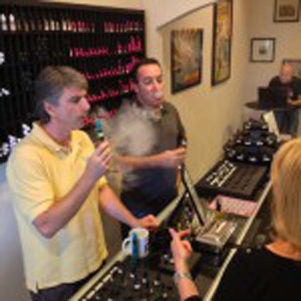 Steven Stern, left, and Brett Weiss are co-owners of RAD Vapor. The store is quickly becoming the premium vapor store in North County. They're located in the Lumberyard at 937 S. Coast Hwy 101 in Encinitas. Visit them online at radvapor.com.