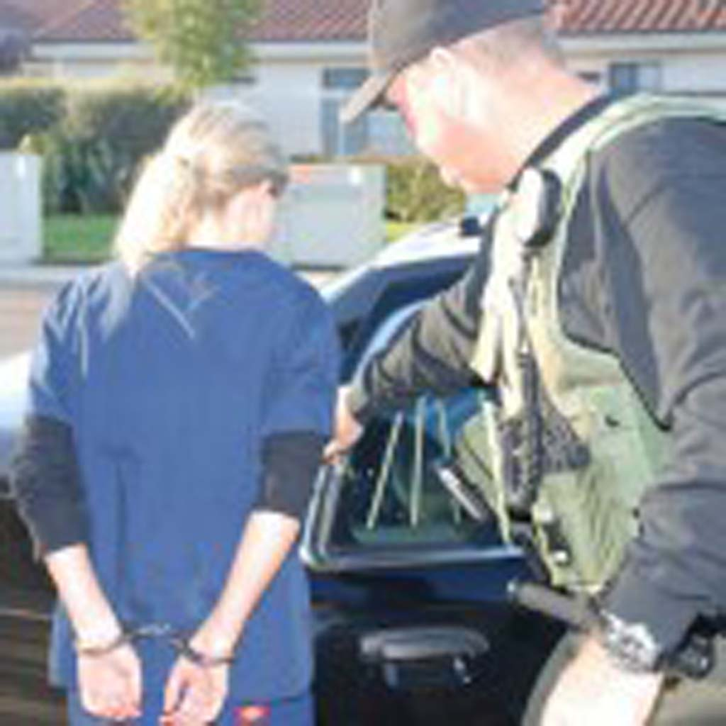 The San Diego County Sheriff's Department arrested 11 people in coastal North County cities on Friday during a warrant sweep operation. Photo courtesy of the San Diego County Sheriff's Department