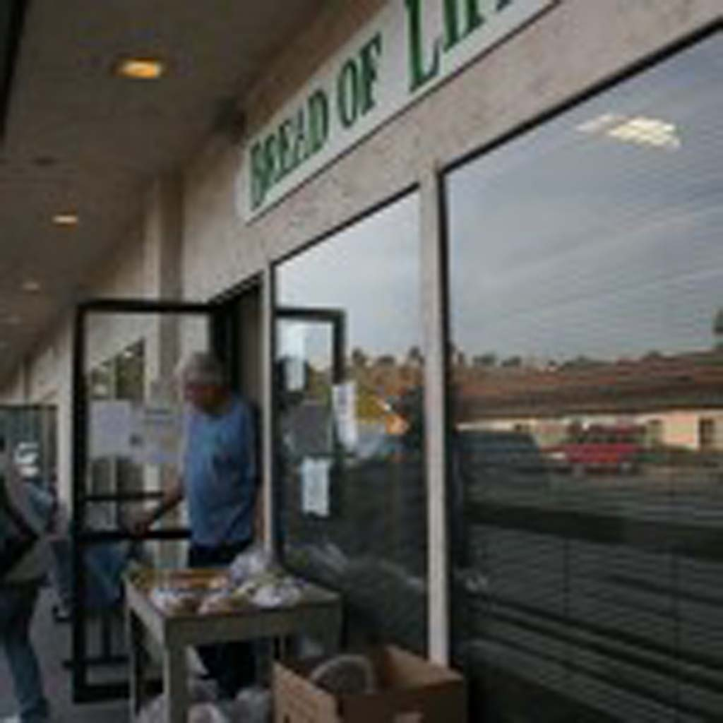 The Bread of Life Rescue Mission in Oceanside provides winter shelter, meals and services. Services build self-sufficiency in individuals that lead to securing employment and permanent housing. Photo by Promise Yee
