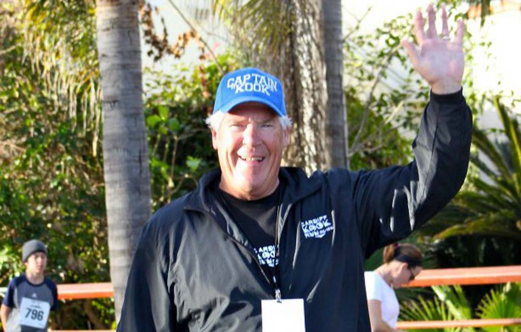 Steve Lebherz is the co-founder of the Cardiff Kook 10k/5k race that takes place Feb. 2. Courtesy photo
