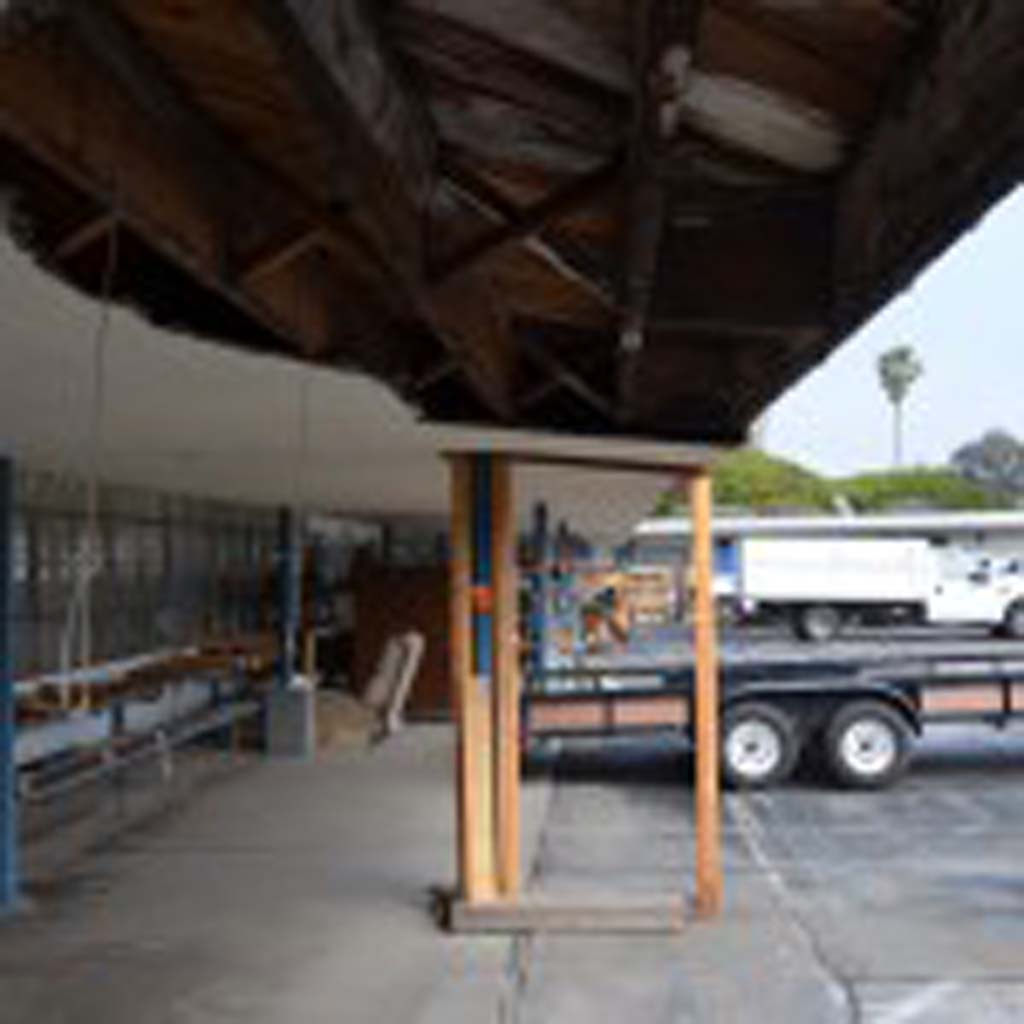 The City Council has until March 21 to put together a Pacific View bid for consideration. Otherwise, the Encinitas Union School District will proceed with a March 25 auction. The dilapidated school closed a decade ago. Photo by Jared Whitlock