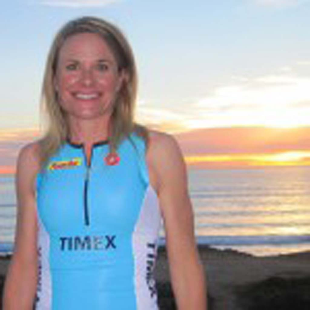 Susanne Davis no longer eyes triathlons with disdain. Courtesy photo