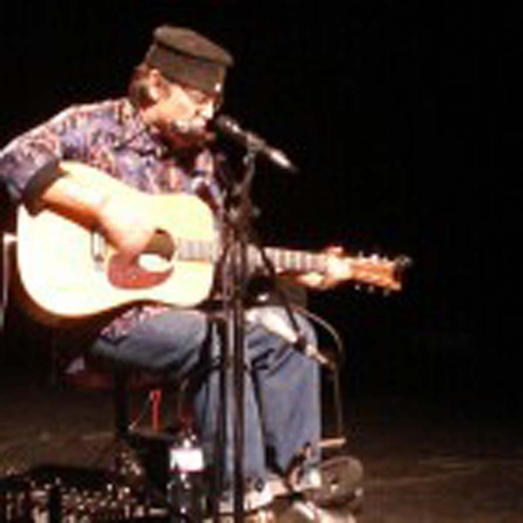 One-man band Steve White created spellbinding music that delighted audiences locally and around the world. Courtesy photo