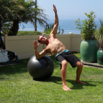 Surfer Taylor Knox, pictured, and personal trainer Paul Hiniker have teamed up to create SURFfit, a fitness DVD geared towards action sports athletes. Courtesy photo