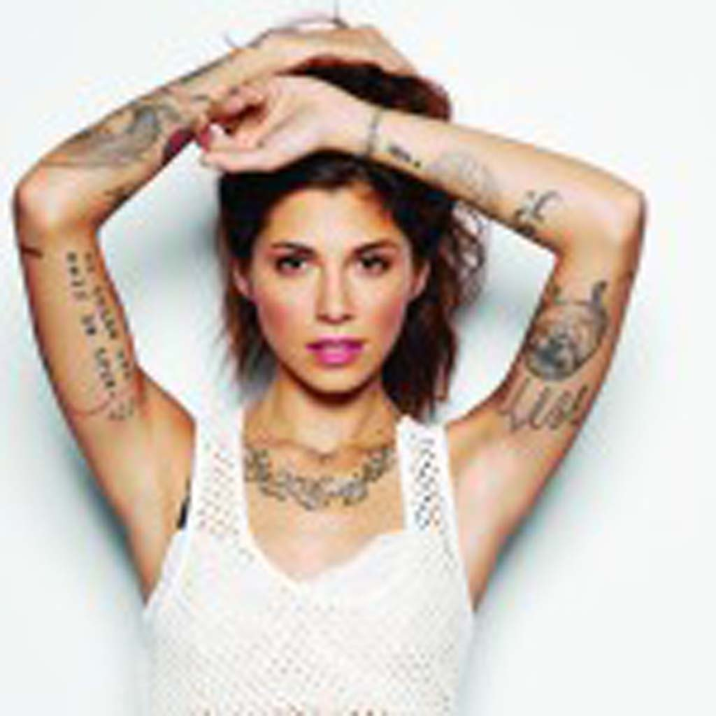 Christina Perri performs with special guest Birdy May 14 at Humphrey's Concerts By the Bay, San Diego. Photo courtesy of Atlantic Records