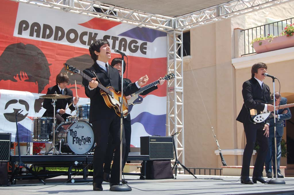 The Fab Four, a Beatles tribute band, will perform June 26. Photo by Bianca Kaplanek