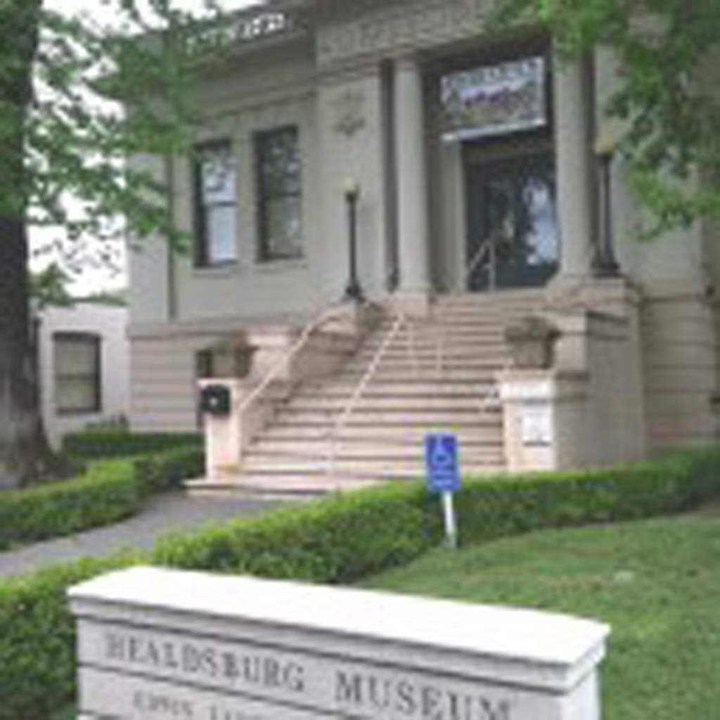 """Healdsburg Museum is located in a former Carnegie Library, a neo-classical revival structure originally funded in 1910 by a $10,000 grant from wealthy industrialist Andrew Carnegie. Admission is free. It features a permanent exhibit with artifacts that belonged to long-time Disney movie and television actor Fred McMurray (""""My Three Sons""""), who had a cattle ranch in the area. Photo by Jerry Ondash"""