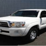 The Oceanside Police are looking for a vehicle similar to the one pictured, a 2007 – 2012 Toyota Tacoma 4 door or extra cab. Photo courtesy Oceanside Police Department