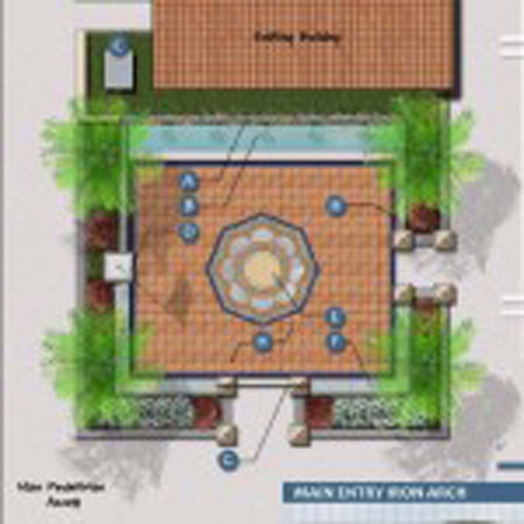 A concert to raise funds to build a Veterans Honor Courtyard at La Colonia Park will be held at 5 p.m. May 19 at the Belly Up in Solana Beach. Courtesy rendering