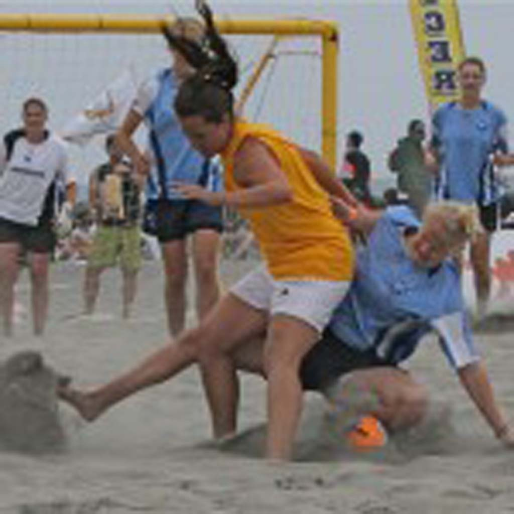 Over 300 teams compete during two days of continuous play in Oceanside May 17 and May 18. Photo by Promise Yee