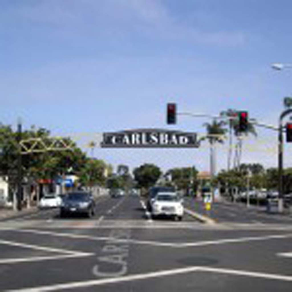 The Carlsbad sign may be built and installed over Carlsbad Boulevard before the end of the year. Image courtesy of the city of Carlsbad