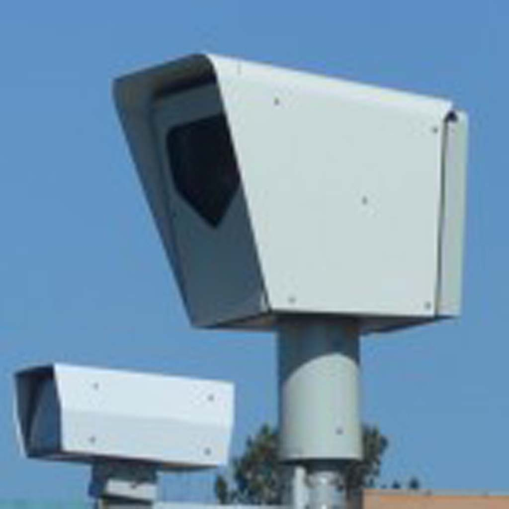 A decrease in revenue from red light cameras in Del Mar is causing city officials to wonder over its cost benefit to the city. File photo