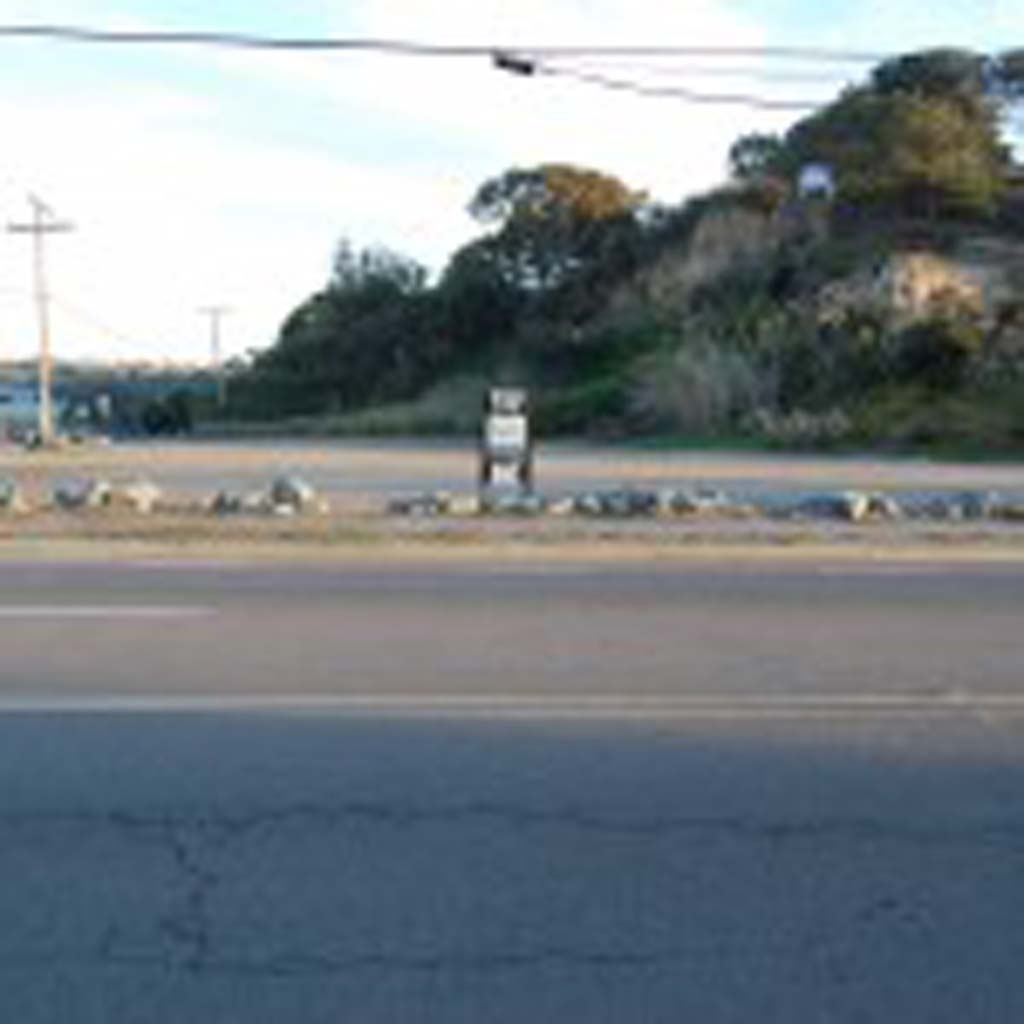 Council members recently authorized the use of a specific plan for a proposed multifamily development on this 2.3-acre lot on the corner of Jimmy Durante Boulevard and San Dieguito Drive. The action was needed because the parcel must be rezoned before housing can be built. Photo by Bianca Kaplanek