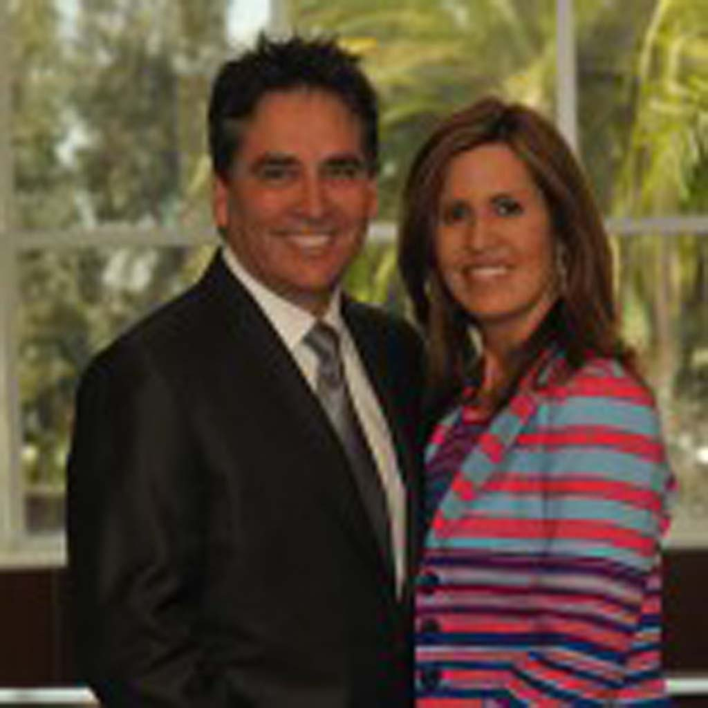 After struggling with infertility for several years, Stephanie and Mario Caballero turned to a surrogate to have children. Courtesy photo