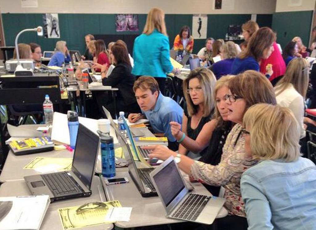 Teachers in North County school districts train to implement the International Baccalaureate program into their curriculum. Two magnate schools in Vista are working to become IB recognized schools. Courtesy photo