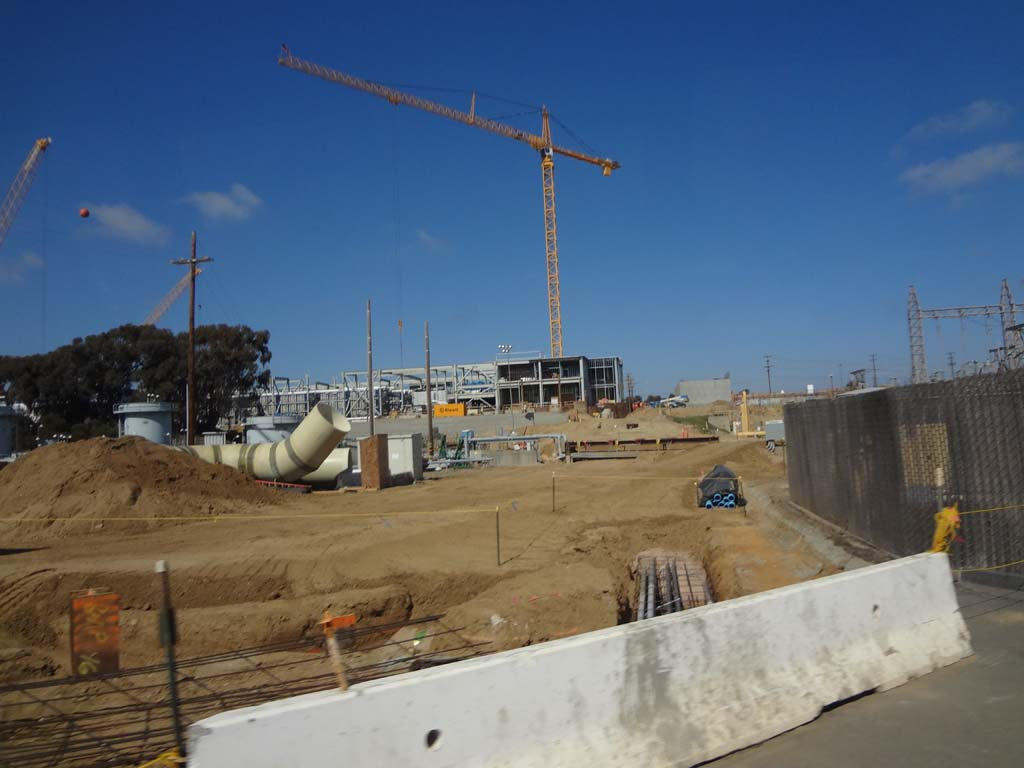Once the desalination plant is complete, the regional water supply will be less dependent on imported water. Photo by Ellen Wright