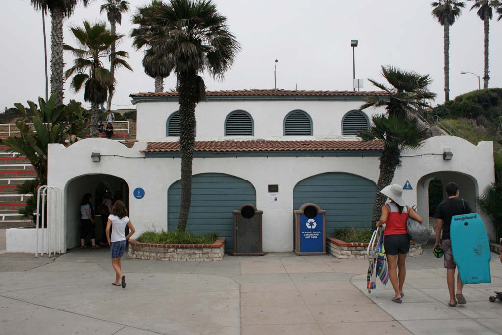 Beach restroom construction is expected to start within a month. Phase I improvements will add more stalls and safety features to four facilities. File photo by Promise Yee