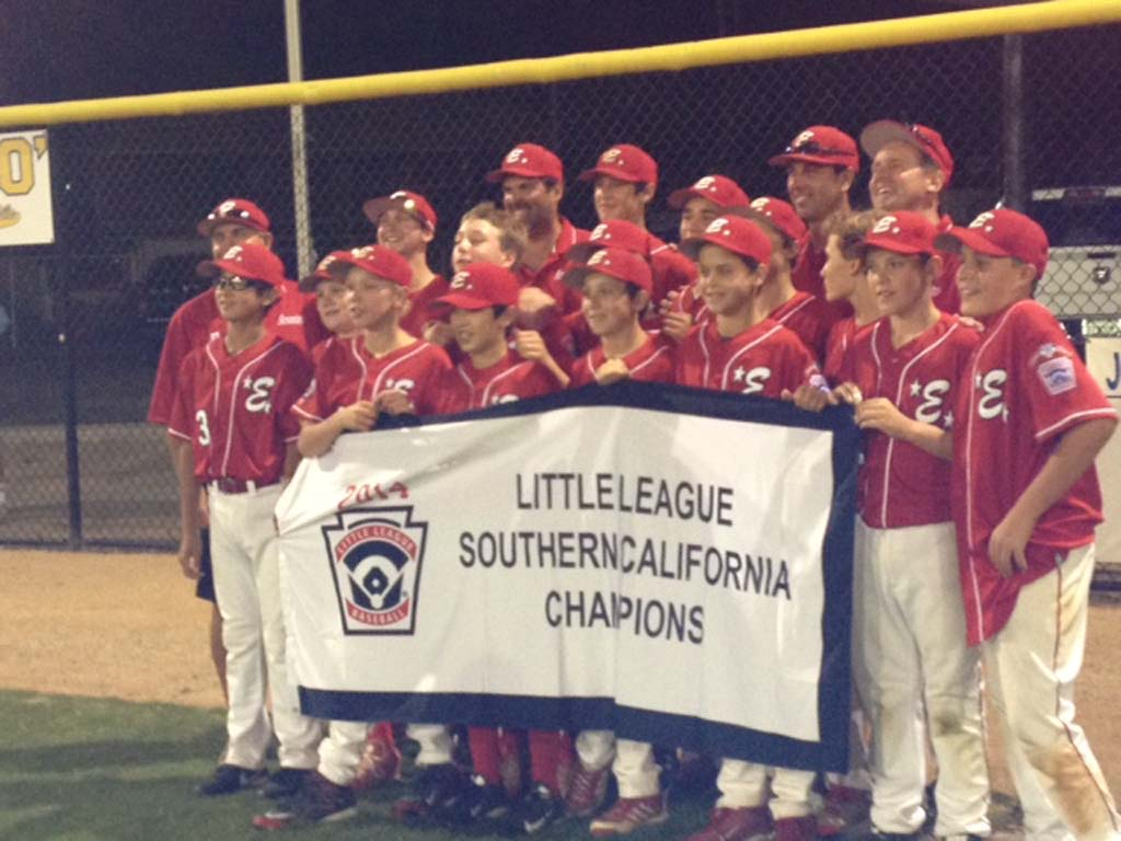 The Encinitas Little League team is making its way through regional tournaments with an eye on reaching the Little League World Series. Courtesy photo
