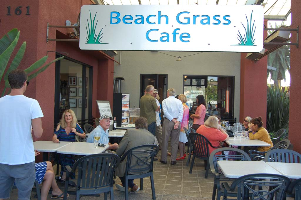 Beach Grass Café is one of more than 30 Solana Beach businesses that will be participating in the Chamber of Commerce's third Business & Food Expo Oct. 1. The restaurant is also one of eight that will be offering free food samples. Photo by Bianca Kaplanek
