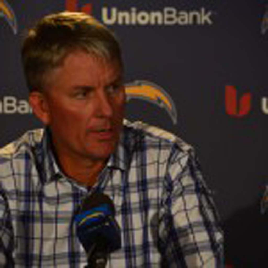 """""""Next man up,"""" is the message Chargers head coach Mike McCoy repeats in regards to the string of injuries the team has sustained this year, including the loss of running back Danny Woodhead in Sunday's win against the Buffalo Bills. Photo by Tony Cagala"""
