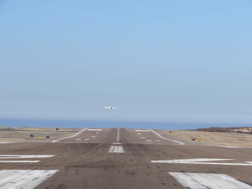 The proposed extension of the runway at Palomar Airport would infuse $163.2 million into the local economy, according to a feasibility study published by the County of San Diego. Photo by Ellen Wright