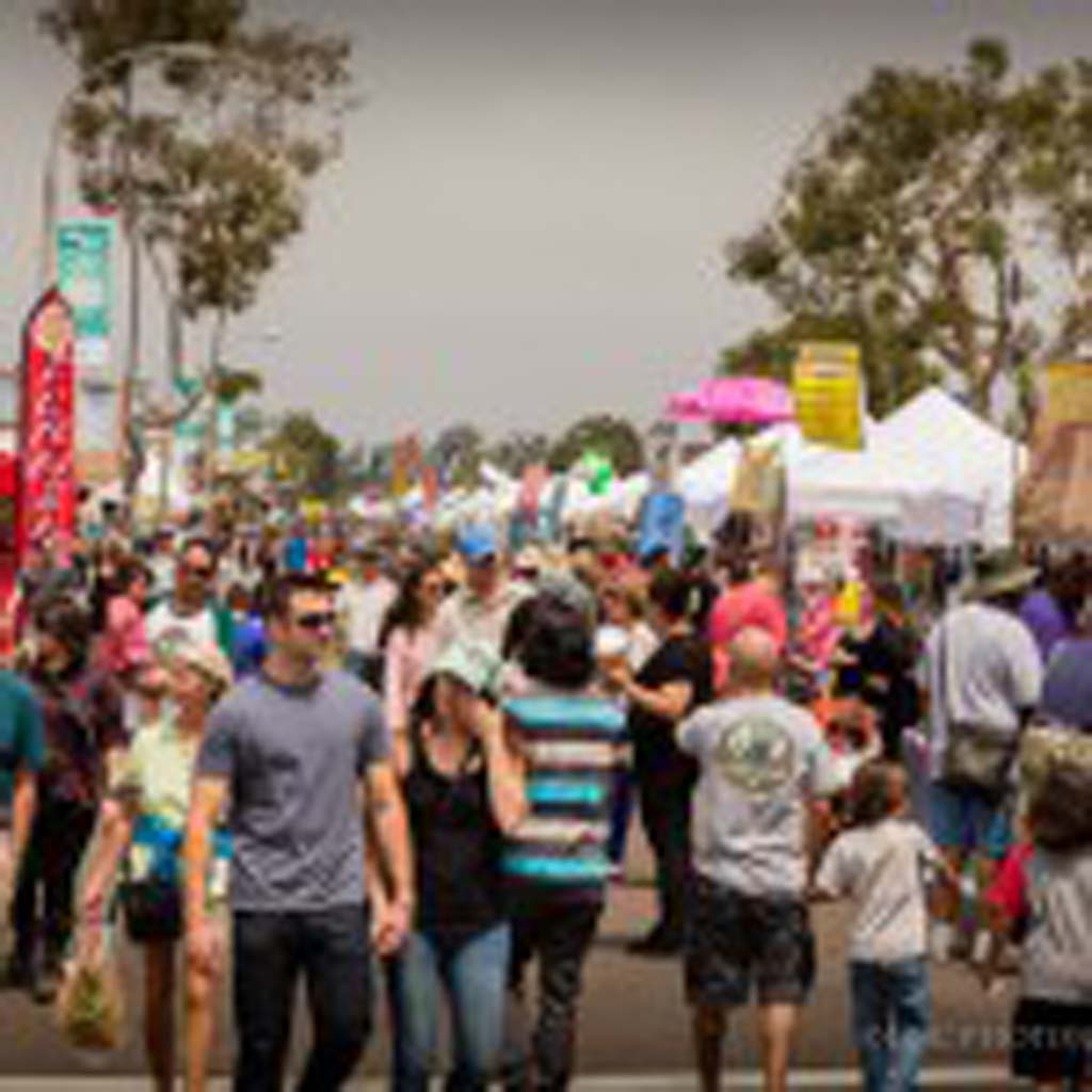 The 24th annual Fall Festival takes place along Coast Highway 101 in Encinitas Nov. 23. Photo courtesy Epic Photojournalism