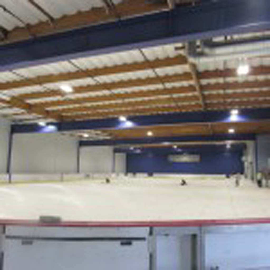 Workers are still laying down piping in the rink, which according to Director Leslie Deason, will be open Dec. 26. Photo by Ellen Wright