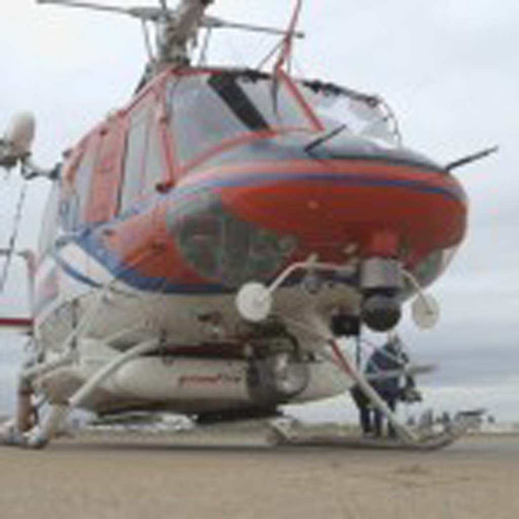 The night helicopters aren't used often, San Diego Fire Rescue Chief of Air Operations Chris Heiser said, but they are now available for easier access to the entire county. Courtesy photo