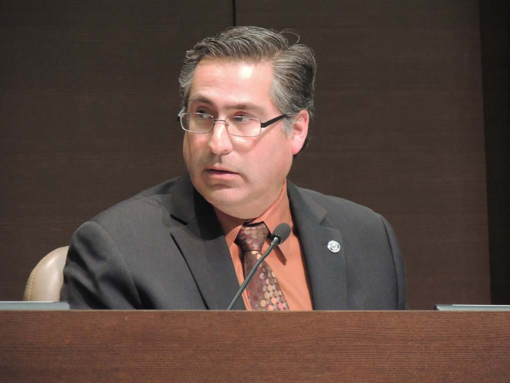 Deputy Mayor John Aguilera said that the city needs to focus on funding new recreation projects that benefit Vista's youth. Photo by Rachel Stine