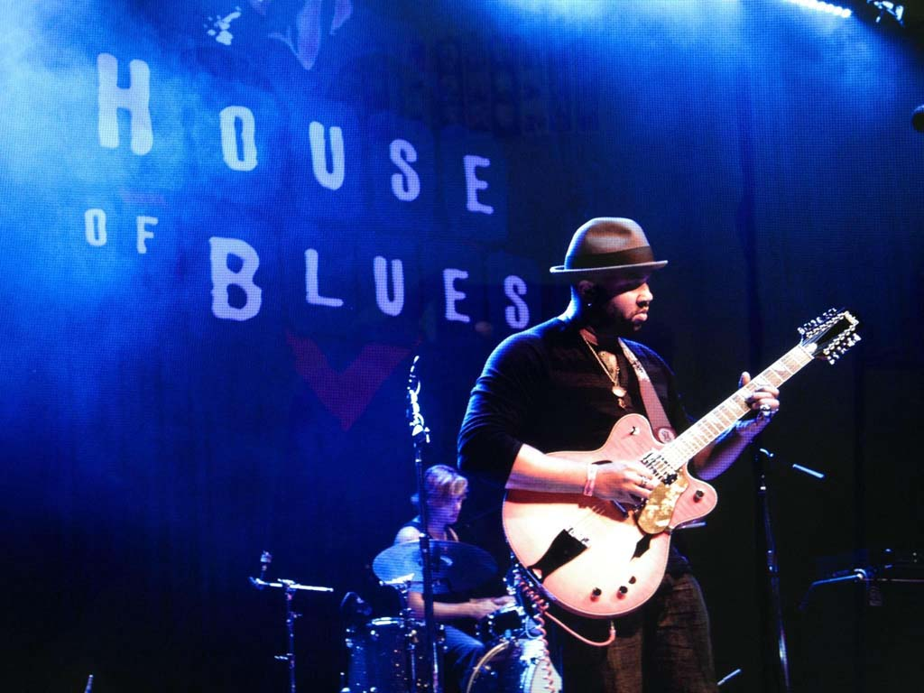 "Shane Hall describes the sound of his music as ""thick,"" which comes from a long time playing on his own. Courtesy photo"
