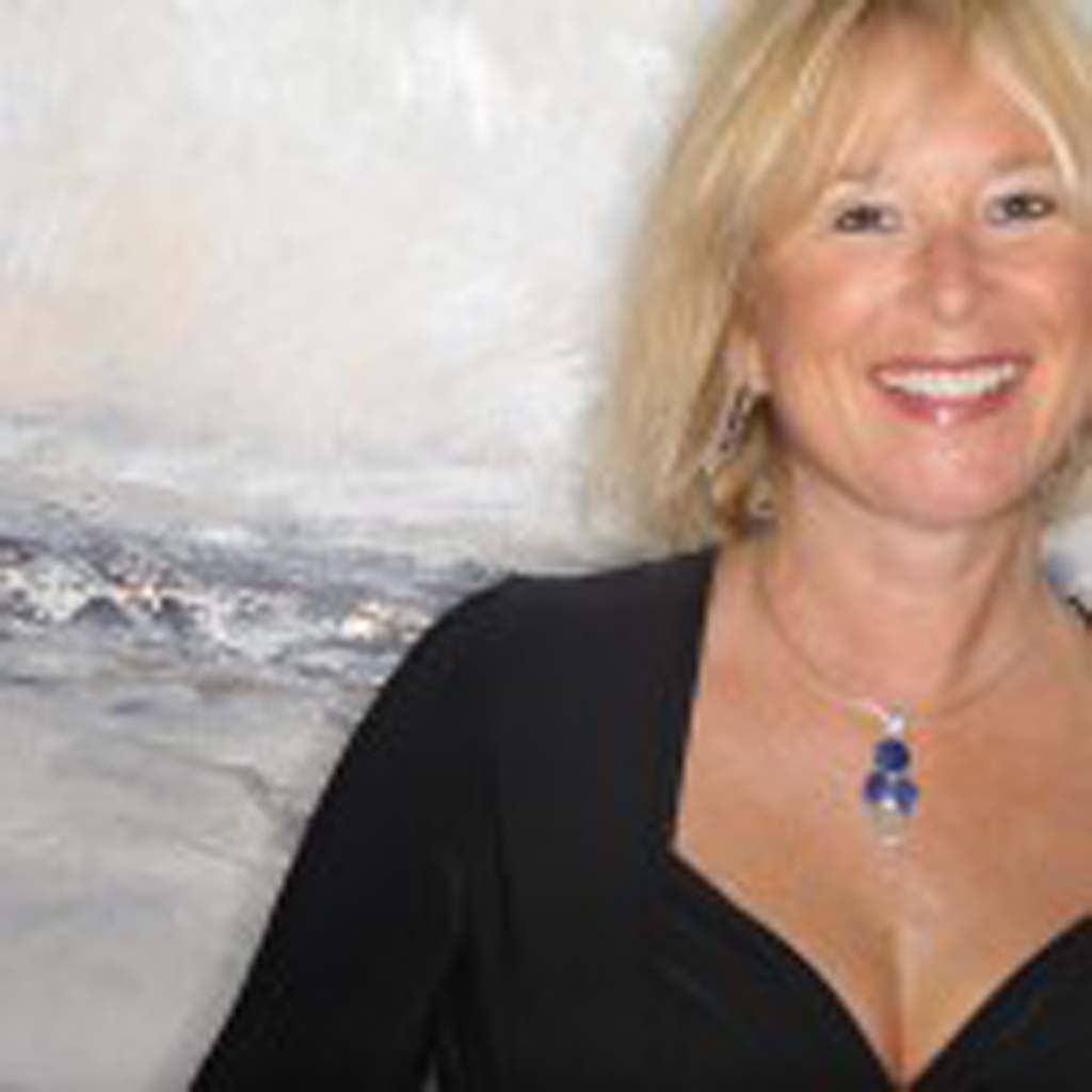 Abstract oil paintings of Oceanside artist Anita Lewis are on exhibit at L Street Fine Art through March 26.