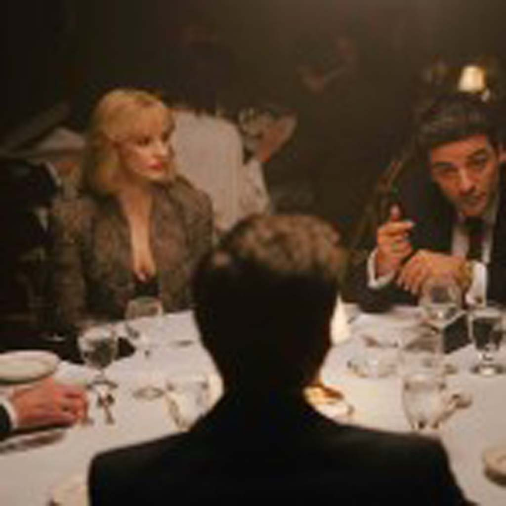 """Jessica Chastain, left, and Oscar Isacc star in """"A Most Violent Year."""" Photo by Atsushi Nishijima"""