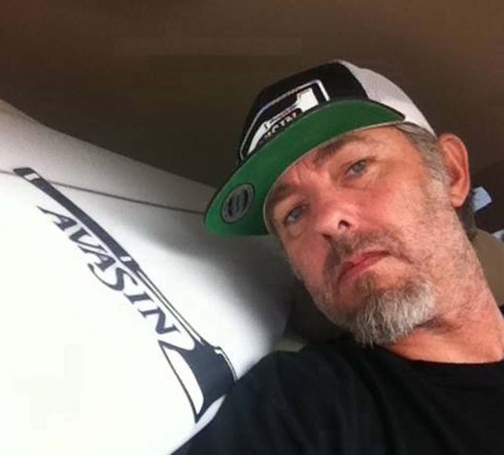 """""""You wanted to be like him, you wanted him to rub off on you so that way you can be more like him,"""" says Ricky Whitlock of Scott Sherwood. Sherwood, a noted surfboard shaper in the North County passed away on Jan. 18. Courtesy photo"""