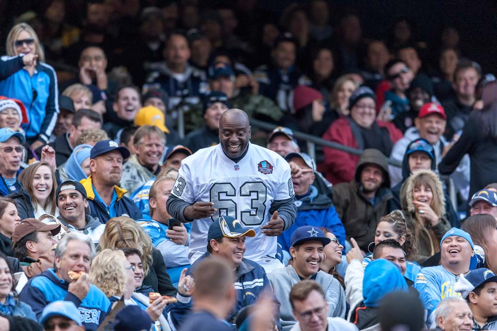 AFC West rivals the San Diego Chargers and the Oakland Raiders are expressing support for a new stadium proposal in the city of Carson, Calif. A press conference was held in Carson on Friday with elected officials trying to rally support for the project. Fans in Oakland and San Diego are expressing concern over whether this might signal both teams leaving their respective cities. File photo by Bill Reilly