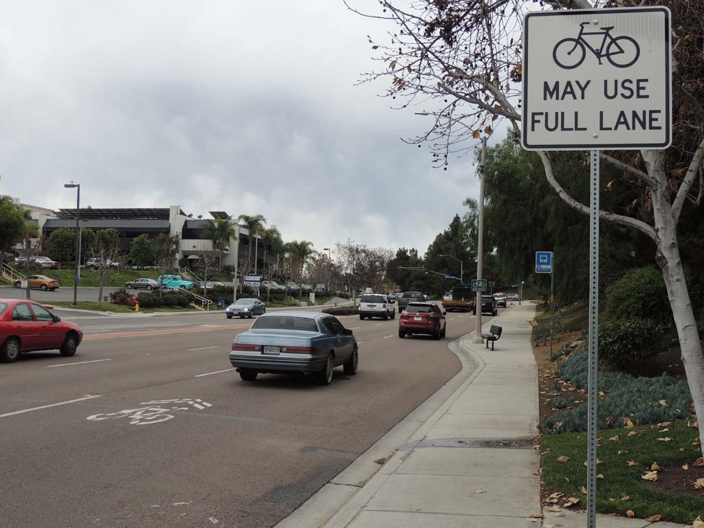 Like many residents who were surveyed for input on Vista's new bicycle master plan, Mayor Judy Ritter agreed that she does not feel safe riding her bike within the city. Photo by Rachel Stine