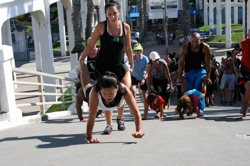 Oceanside City Council approves requirements for surf camps and fitness groups to obtain permits to use city beaches for commercial use. File photo by Promise Yee