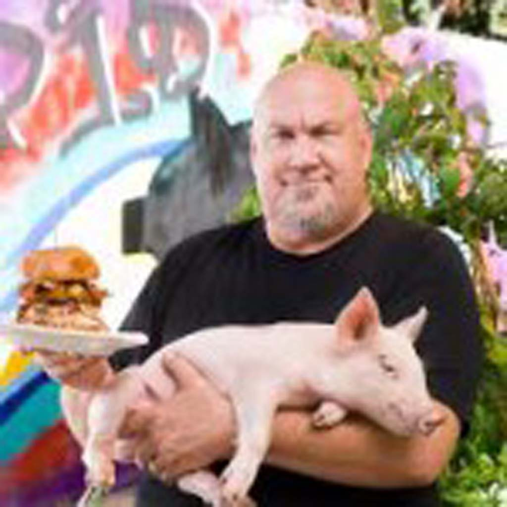 Hanis Cavin, owner of Carnitas Snack Shack in Del Mar Highlands Town Center, is one of more than two dozen chefs participating in Chef Celebration's 20th annual spring dinner series, which kicks off at Pamplemousse Grill. Courtesy photo