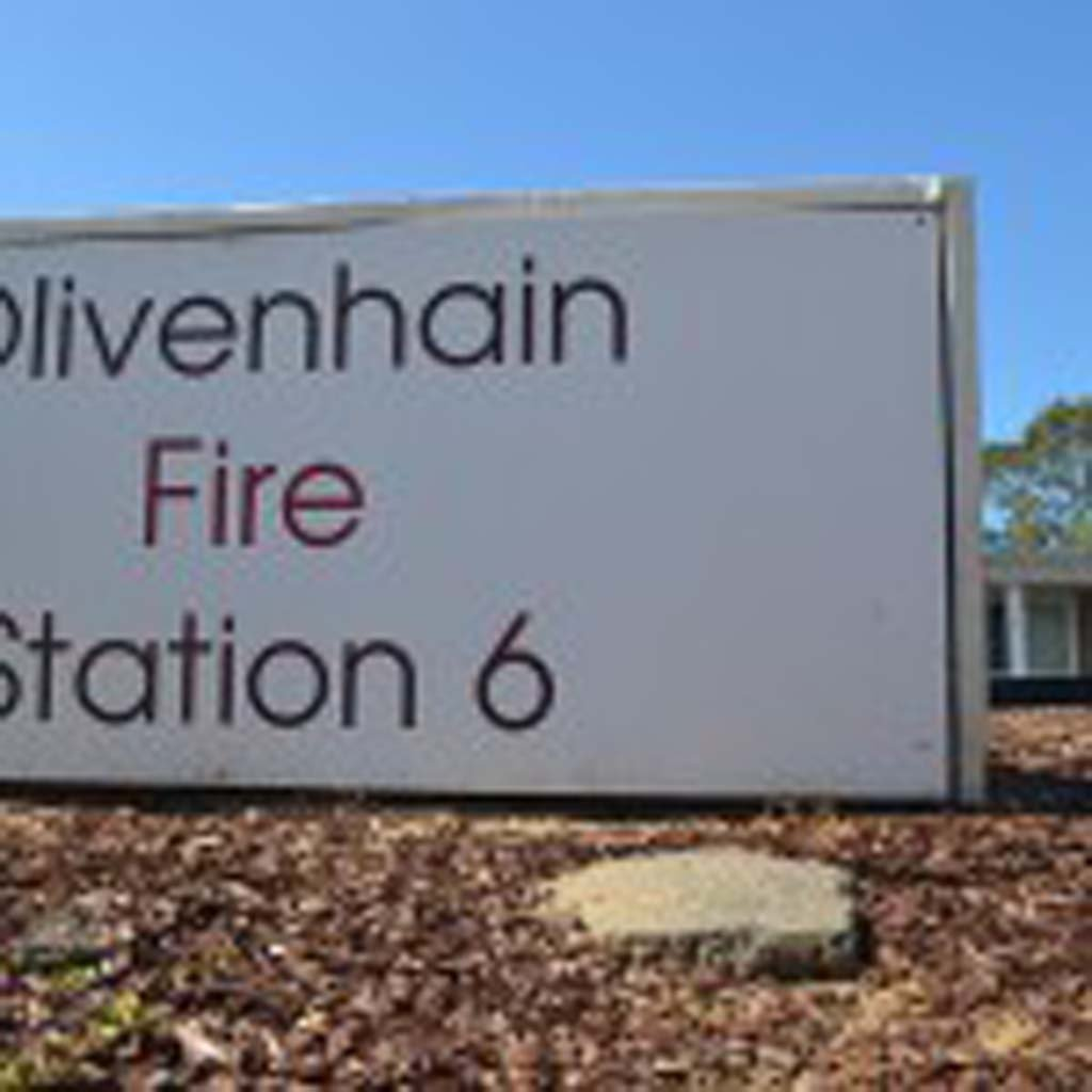 Encinitas Fire Chief Mike Daigle would like to add three new firefighters to the Olivenhain Fire Station to help cut back on overtime. Photo by Tony Cagala