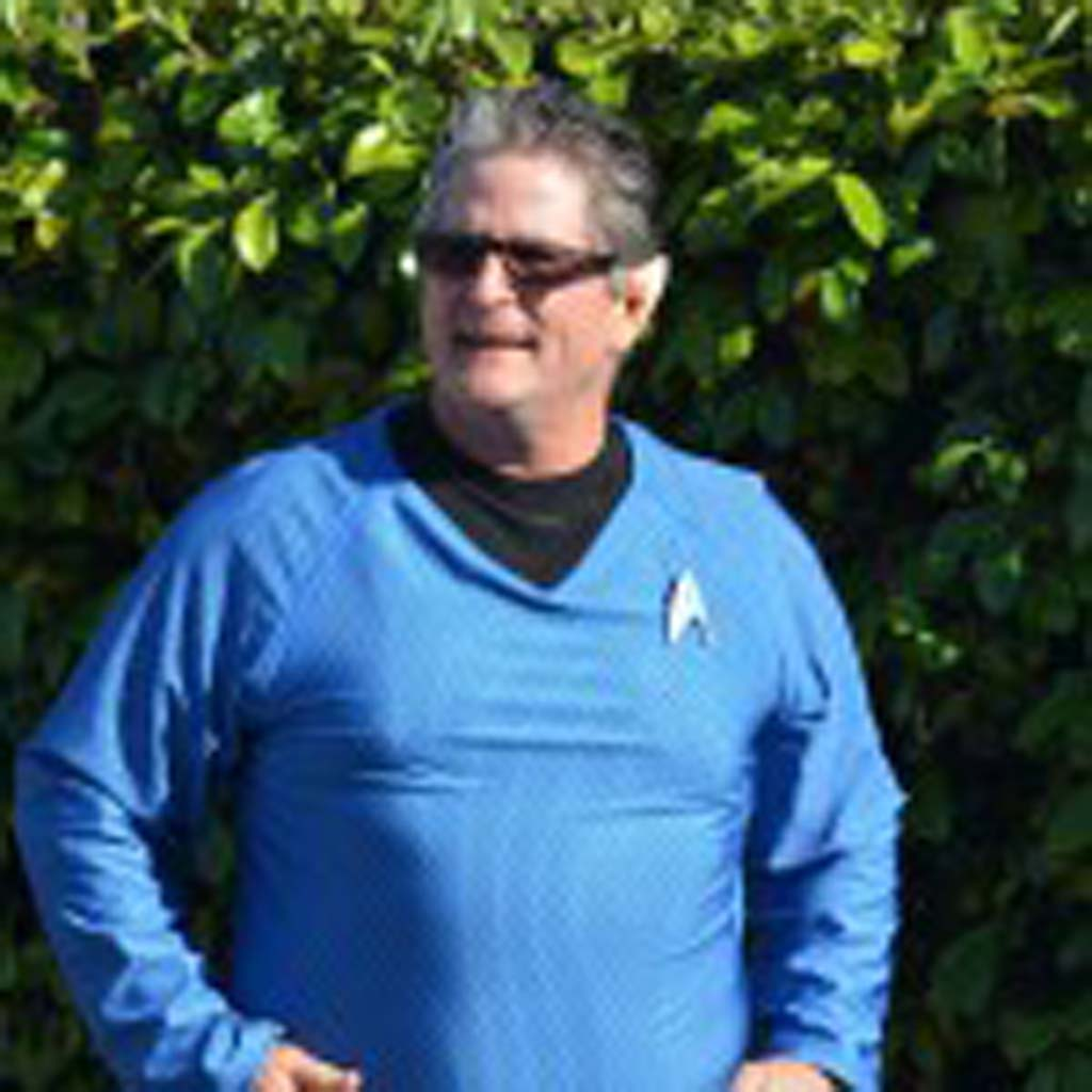 """Encinitas Councilman Tony Kranz with pointy ears similar to those sported by """"Star Trek"""" character Spock. Photo by Tony Cagala"""